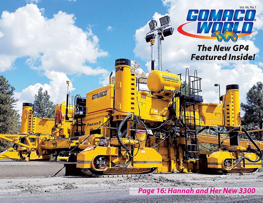 GOMACO Corporation: The Worldwide Leader in Concrete Paving Technology