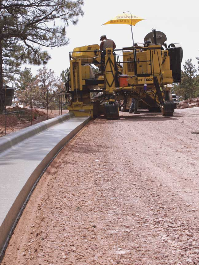 GOMACO, Manufacturer of Concrete Slipform Paving Equipment: GOMACO on golf ball path, walking path, golf course maintenance facility, golf girls, computer path, golf sign path, golf rough, golf green, golf shot hits wife, golf course people, course path,