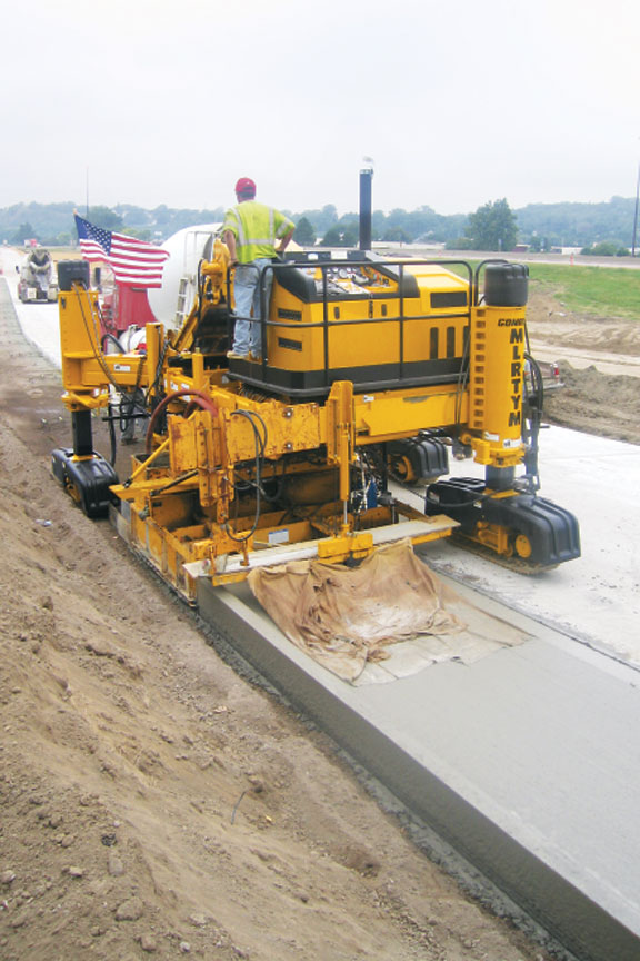 curb and gutter machine