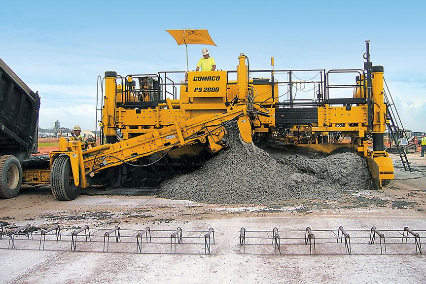 Машины и оборудование для укладки и распределения бетонной смеси хохряки бетон ижевск